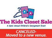 The Kids Closet Sale - March 29 - 1/2 price sale- Canceled